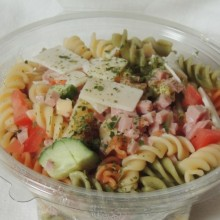 Salade Pâtes tricolore
