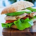 Sandwich Aiguillettes nature de poulet grillées